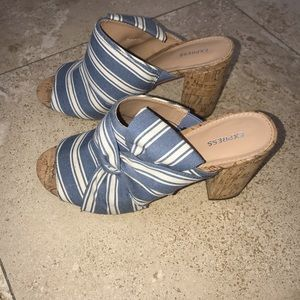 Beautiful Express Sandals 👡 worn once only.